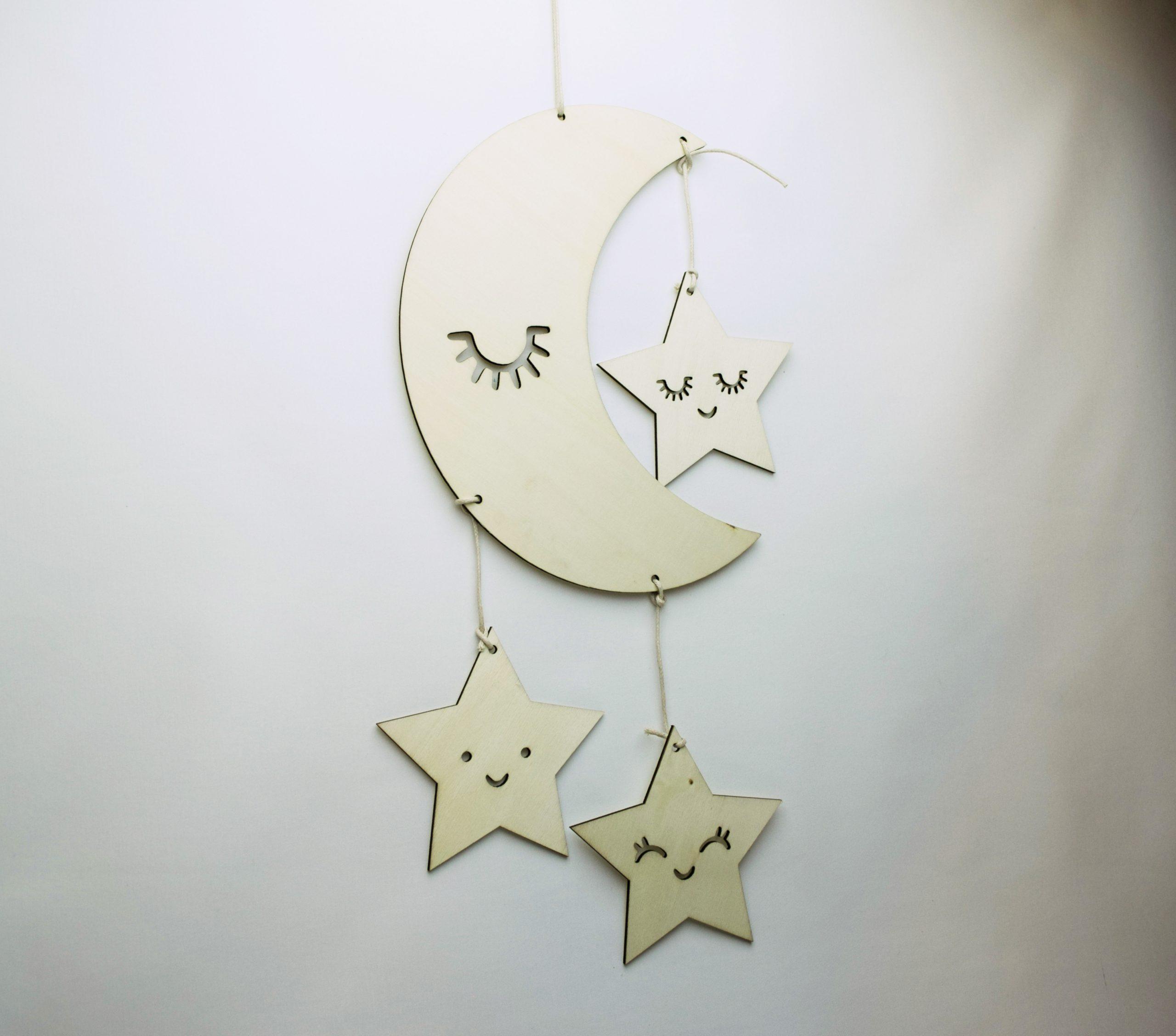 Drewniany księżyc