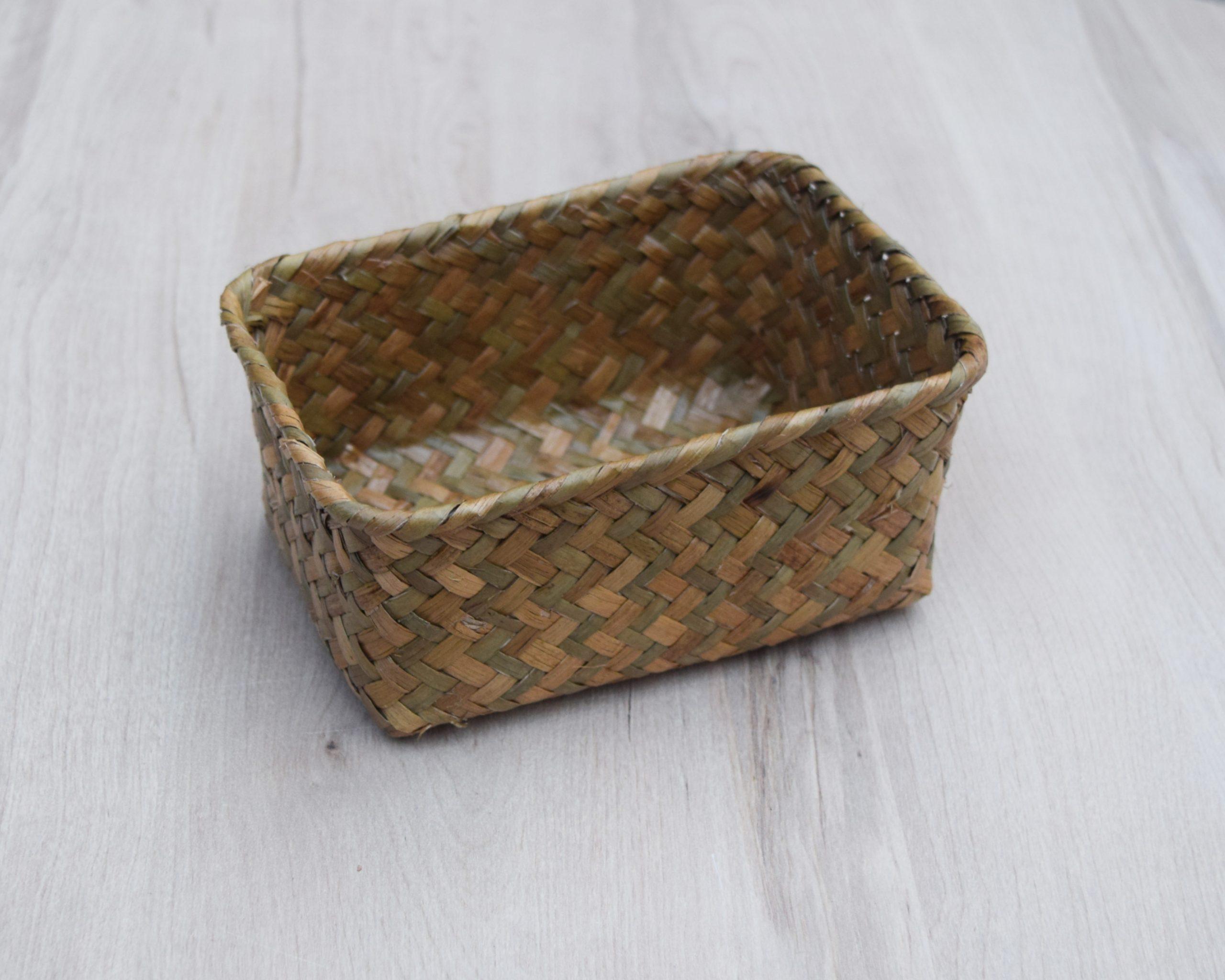 Pudełko z trawy morskiej M