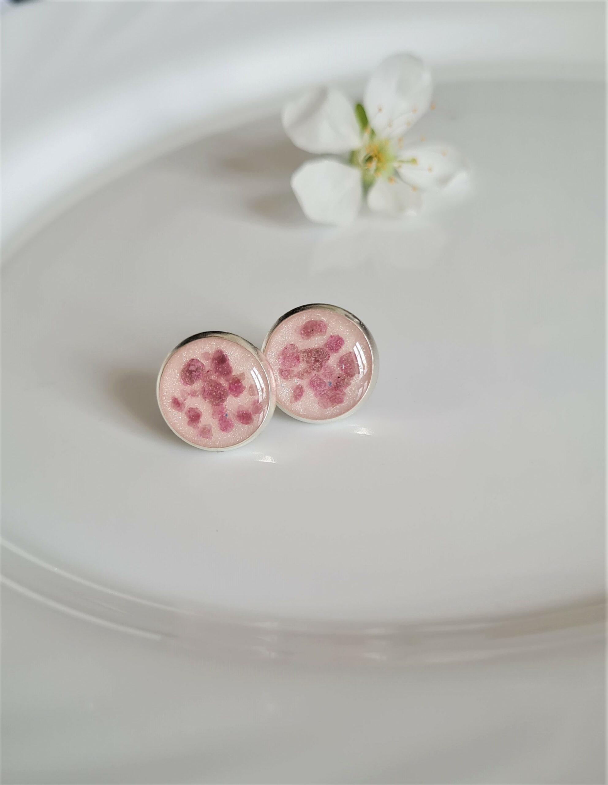 Kolczyki Błyskotki różowe