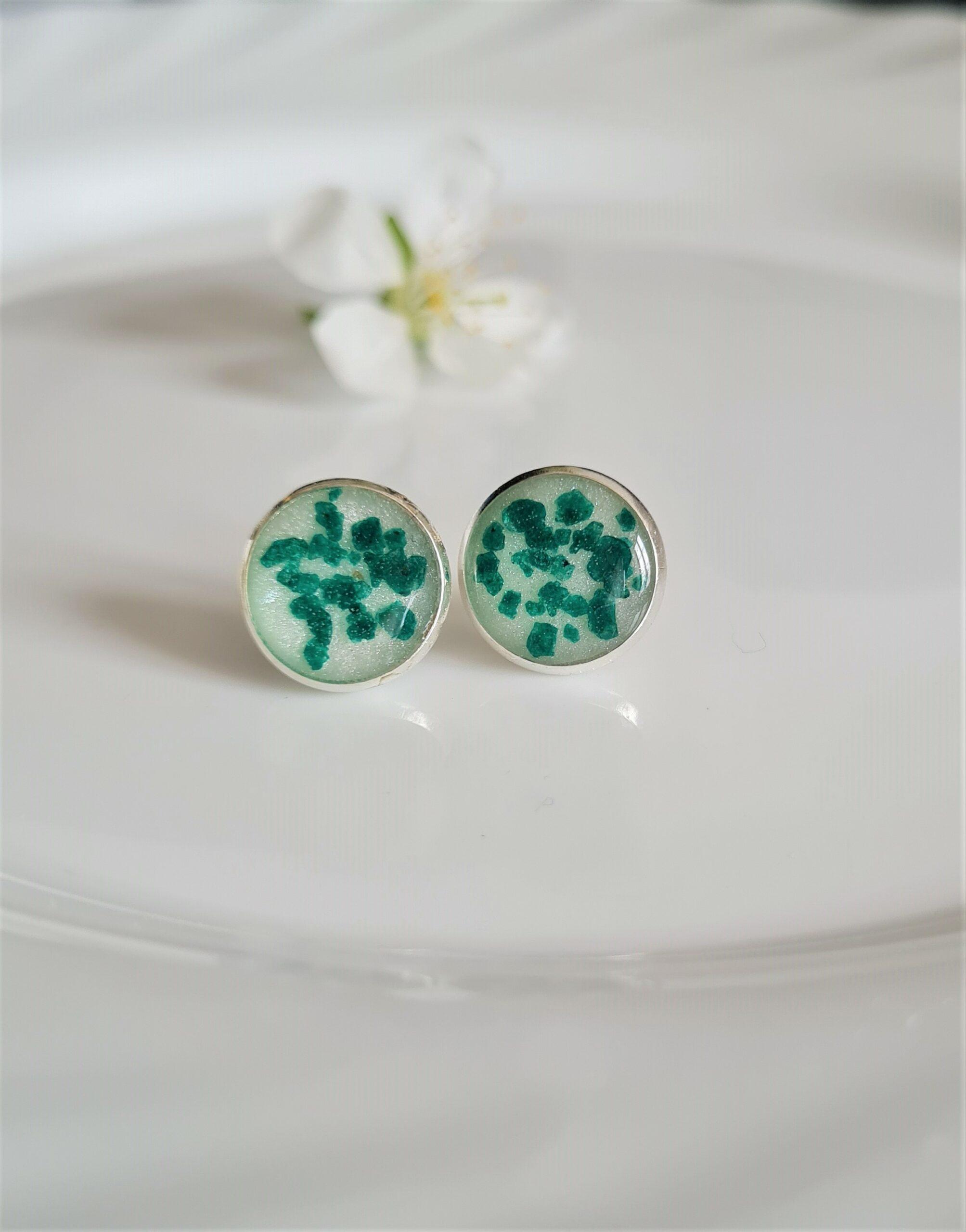 Kolczyki Błyskotki zielone