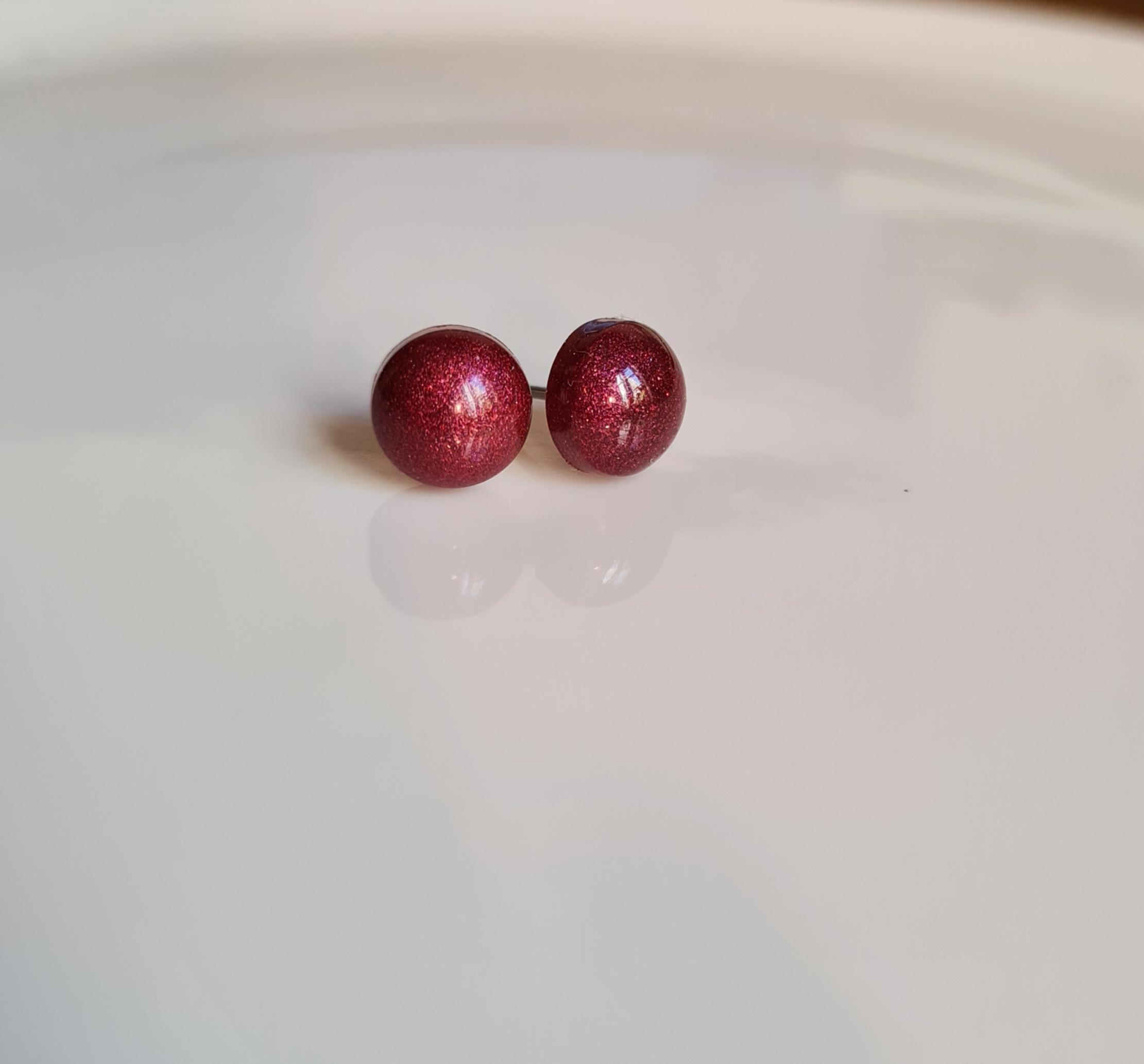 Kolczyki Oktany mini