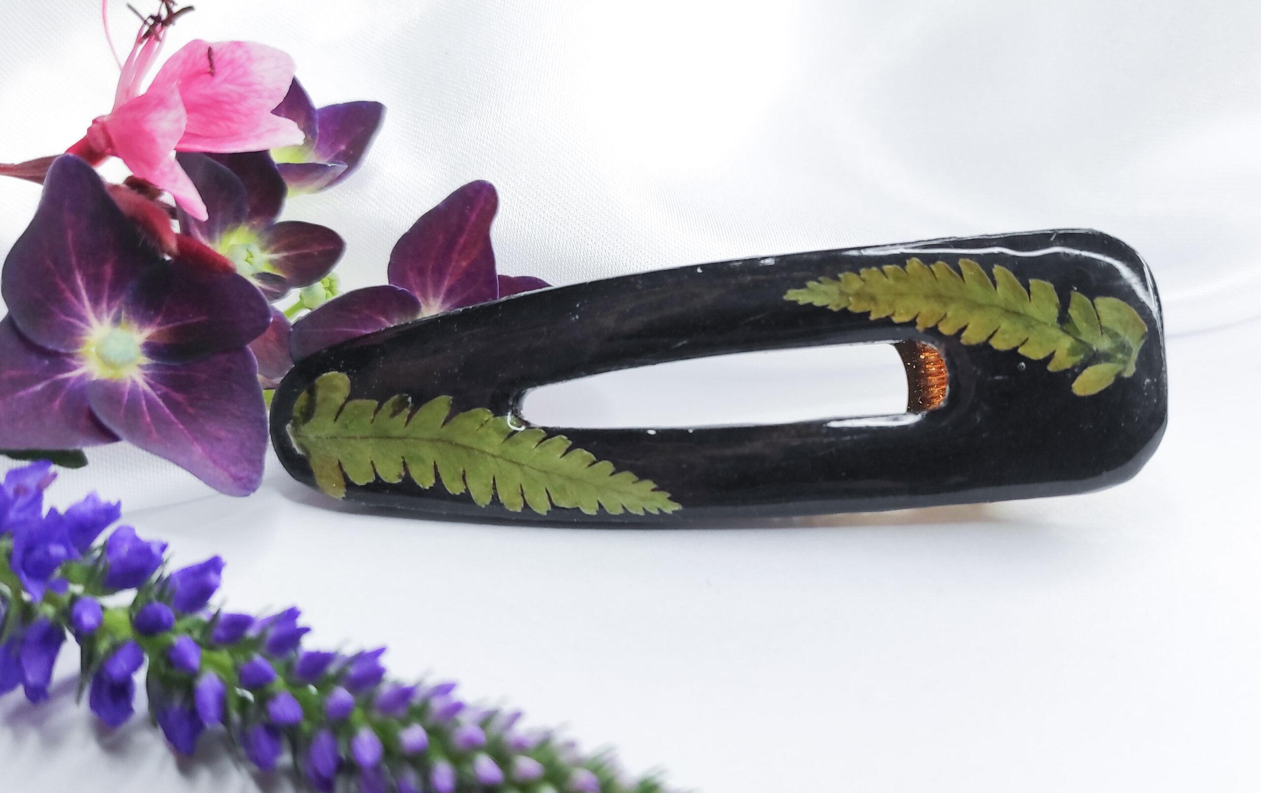 Spinka Paprotni czarna